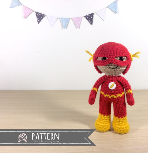 Amigurumi Flash Crochet Pattern