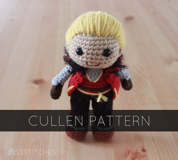 Cullen Amigurumi Crochet Plush Doll Pattern