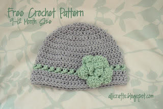 Beanie with Crossed Texture Detail Row
