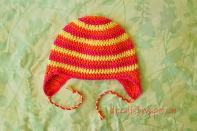 Earflap Hat - Youth/Adult Small