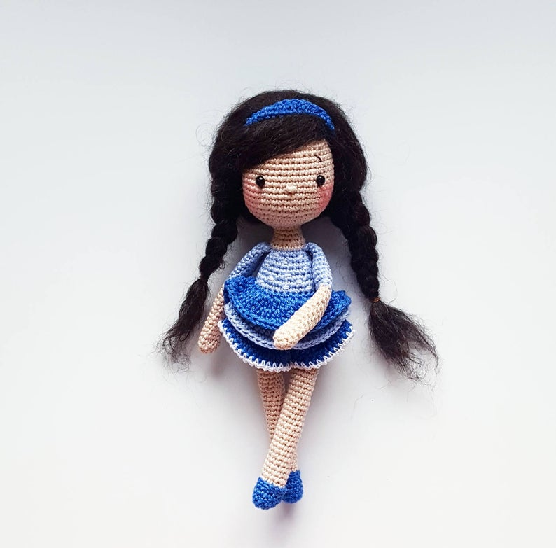Ingrid doll corchet pattern