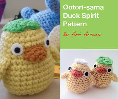 Duck Spirit Ootori-sama crochet pattern Spirited Away PDF