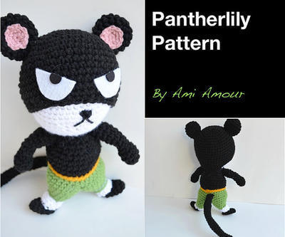 Pantherlily amigurumi pattern Fairy Tail PDF