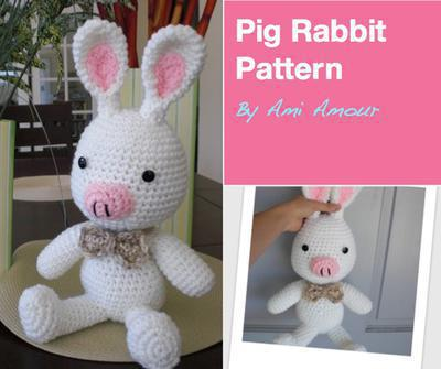 Pig Rabbit Pattern