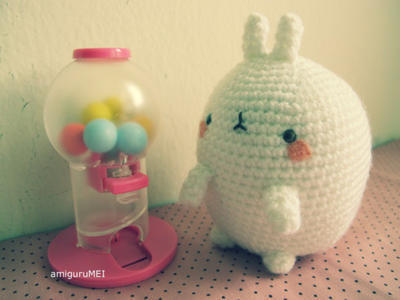 Molang the fat Rabbit!