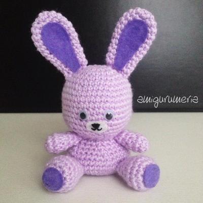 Bunny Amigurumi easy crochet pattern