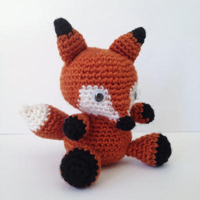 Fox Amigurumi easy crochet pattern