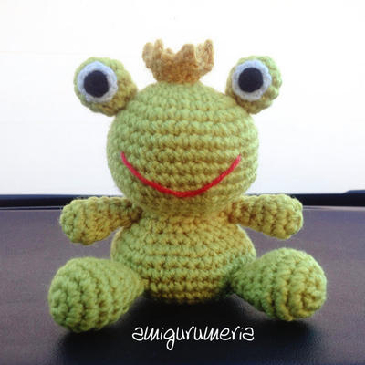 Frog Amigurumi easy crochet pattern