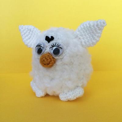 Furby Amigurumi easy crochet pattern