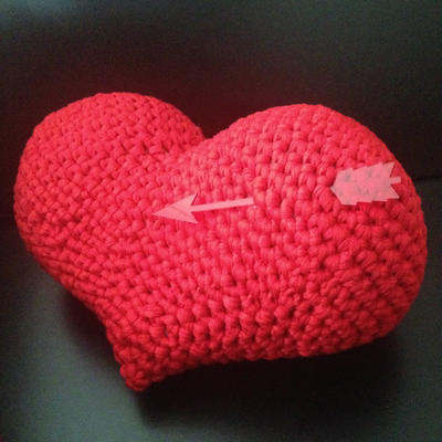 Heart Amigurumi easy crochet pattern