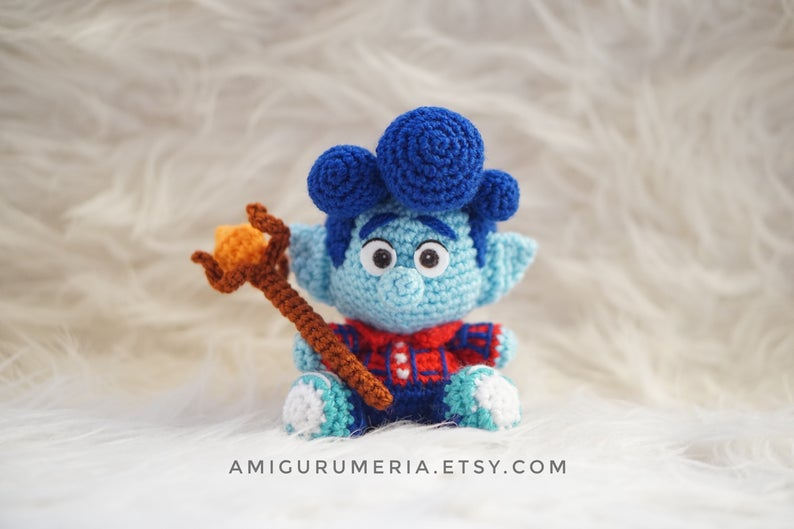 Ian Lightfoot Onward Amigurumi