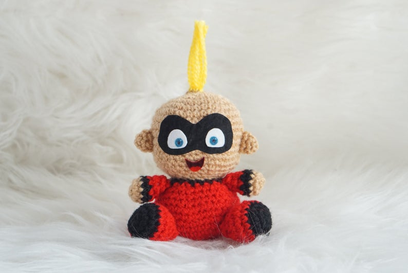 Jack from The Incredibles Amigurumi Pattern