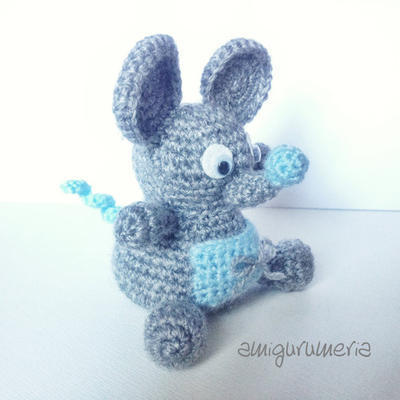 Mouse Amigurumi easy crochet pattern