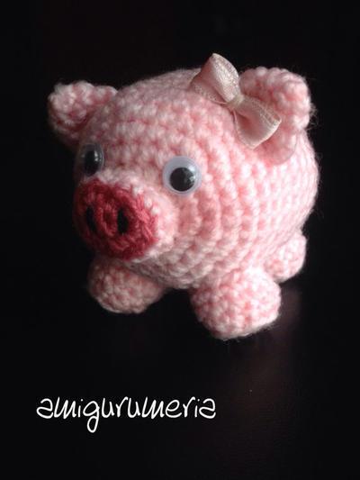 PIg Amigurumi easy crochet pattern