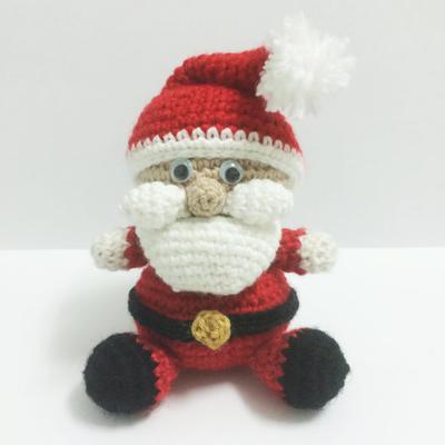 Santa Amigurumi easy crochet pattern