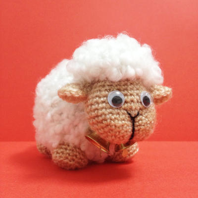 Sheep Amigurumi easy crochet pattern