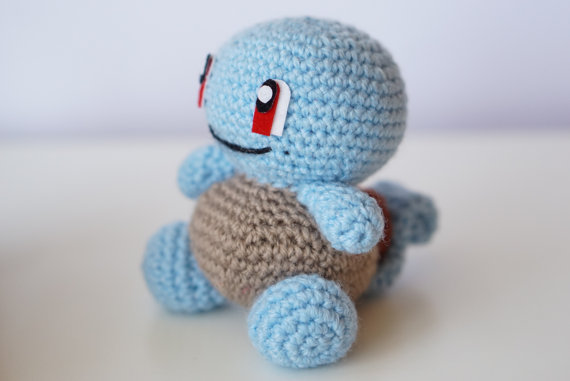 Squirtle Pokemon Go Amigurumi Pattern