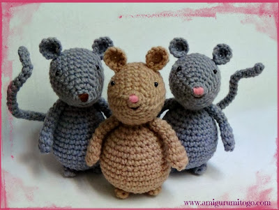 Amigurumi Mouse Tutorial