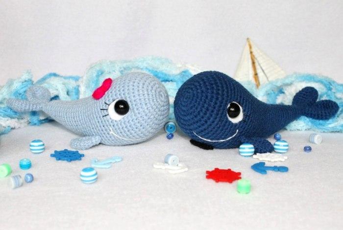 Blue Whale Amigurumi Pattern
