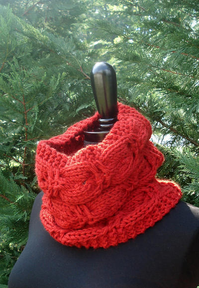 Cuddly Cashmere Cowl