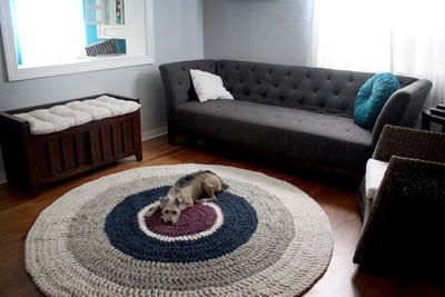 The Round Rug crochet pattern