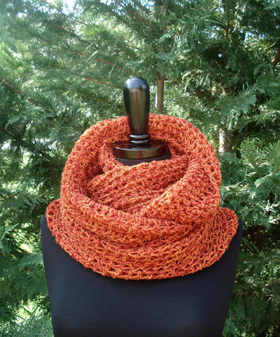 The Signature Herringbone Cowl