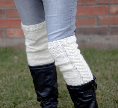 White Stag over the Knee Boot Cuffs