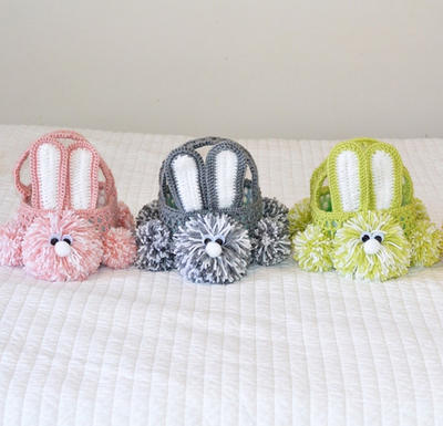 Crochet Easter Bunny Basket Pattern