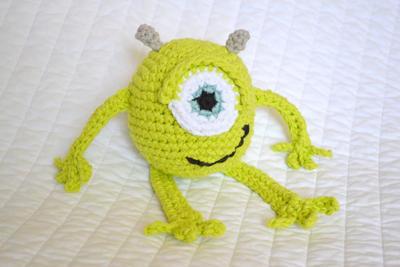 Crochet Mike Wazowski Pattern