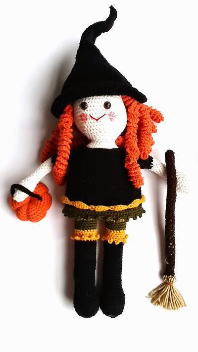 Clementine the Friendly Witch Doll