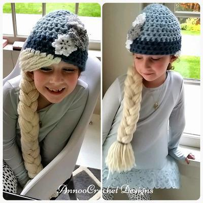 Elsa, Snow Princess Hat