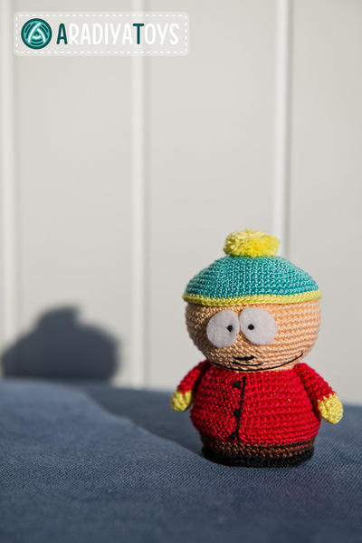 "Crochet Pattern of Eric Cartman from ""South Park"""
