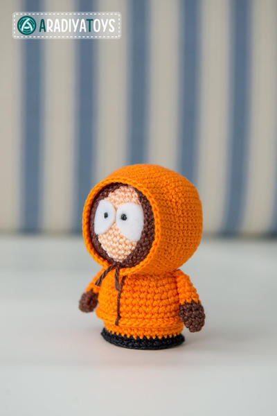 "Crochet Pattern of Kenny McCormick from ""South Park"""