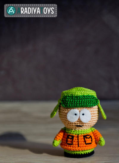 "Crochet Pattern of Kyle Broflovski from ""South Park"""