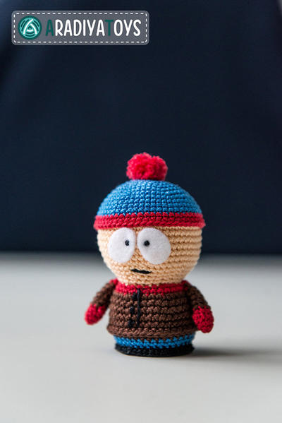 "Crochet Pattern of Stan Marsh from ""South Park"""
