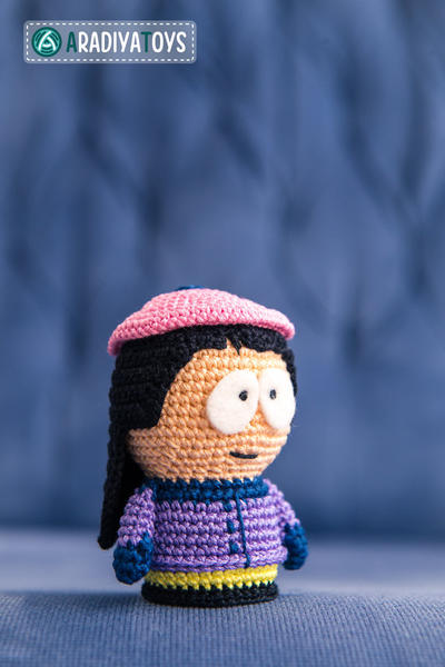 "Crochet Pattern of Wendy Testaburger from ""South Park"""