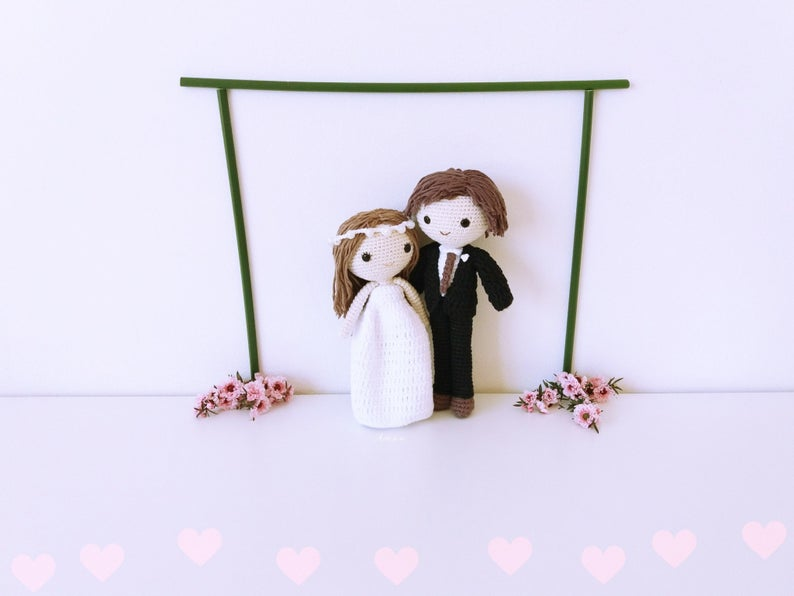 Amigurumi brides doll pattern