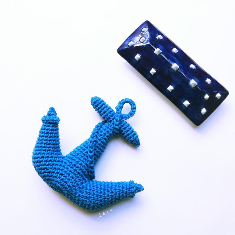 Anchor pattern crochet