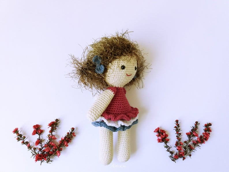 Theresa Doll crcohet pattern