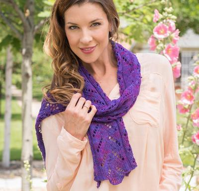 Flower Lace Scarf Kit
