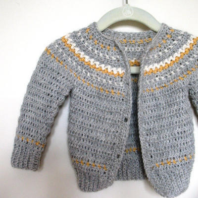 Easy Fair Isle Style Crochet Pattern No. 9