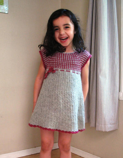 Kids Crochet Dress Pattern No. 14