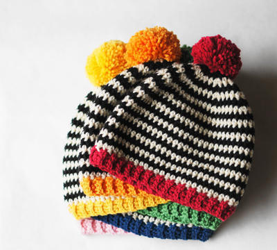 Pop Hat Crochet Pattern