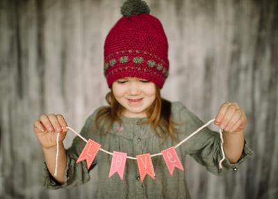 Sweet Heart Slouchy Hat Crochet Pattern
