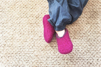 Toddler Slipper Crochet Pattern No. 7