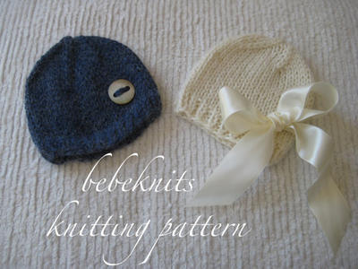 Alpaca Baby Hat Knitting Pattern