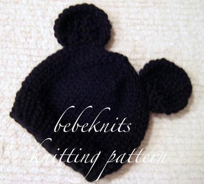 Little Mouse Newborn Hat
