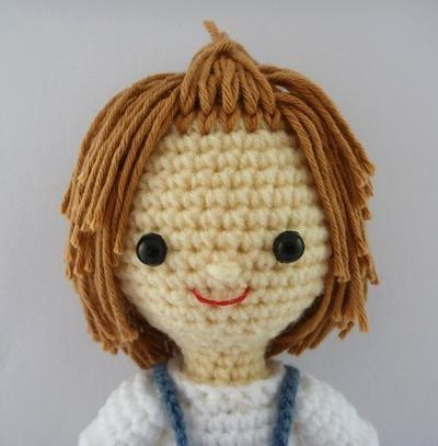 PDF Crochet Pattern - Farmer Boy