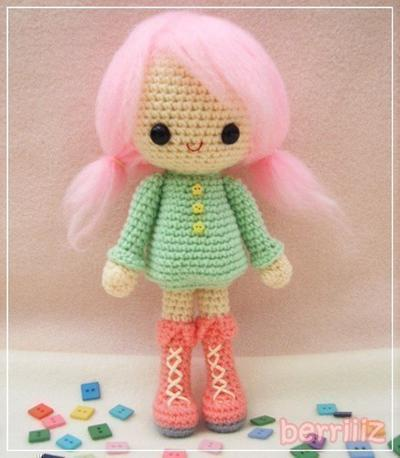 PDF Pattern - Candy - The winter girl