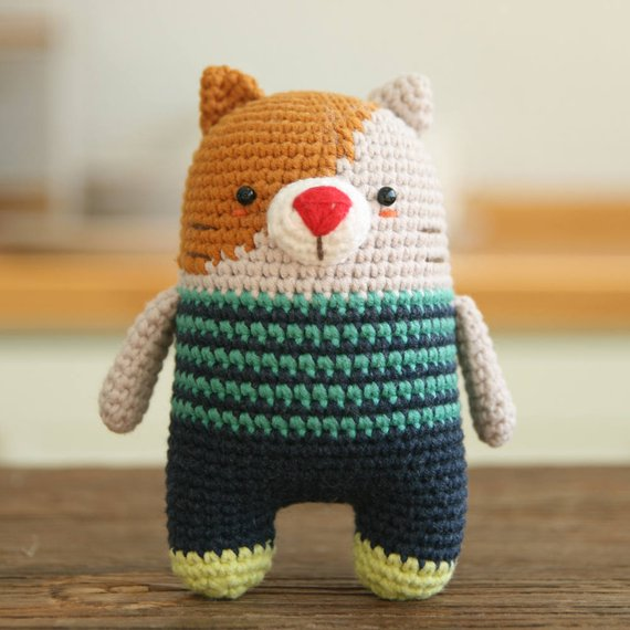 Crochet pattern-cat